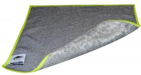 Lavette grattante double face microfibre