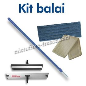 Kit Balai Microfibre Complet
