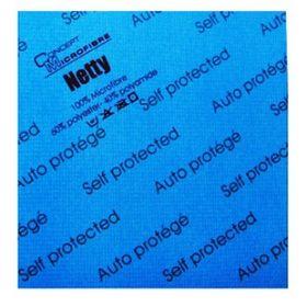 Lavette Netty® Anti Bactérienne bleu 40 x 40 cm lot 5